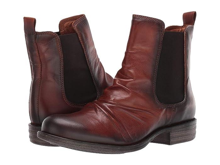 Miz Mooz  Lissie (Antique Brandy) Womens Pull-on Boots