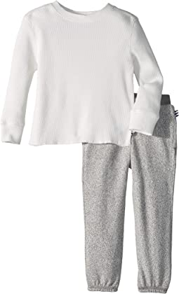 Splendid Littles - Long Sleeve Thermal Set (Little Kids/Big Kids)