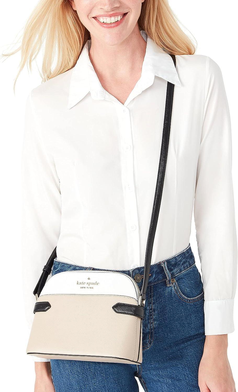 Kate Spade Staci Dome Saffiano Leather Crossbody Bag Purse Handbag
