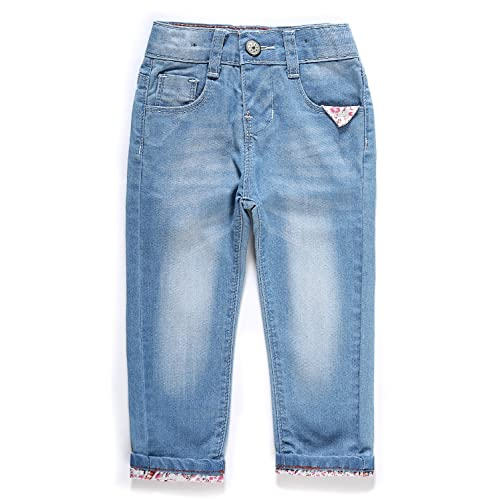 d2a1be257bf LITTLE-GUEST Baby Girls  Jeans Toddler Baby Clothes Denim G105