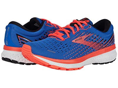 Brooks Ghost 13 (Blue/Coral/White) Women