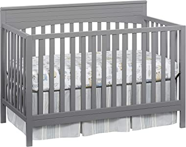 Oxford Baby Harper 4-in-1 Convertible Crib, Dove Gray