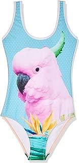 Sudo Kids Girls Bird of Paradise 1 Piece, Multicoloured