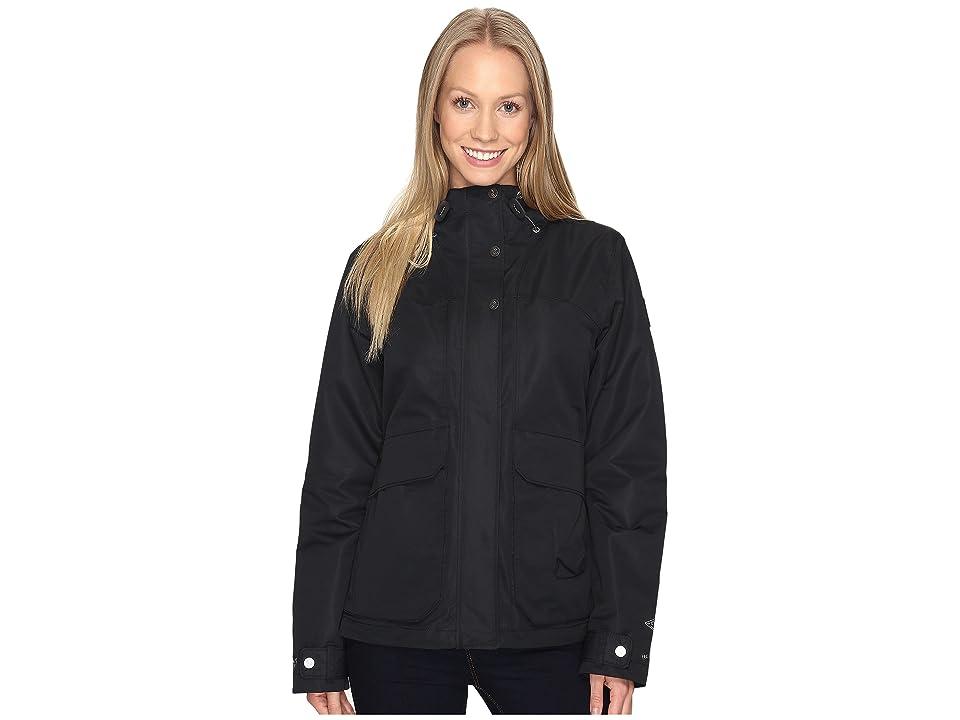 Columbia South Canyon Hooded Jacket (Black) Women