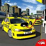 Eléctrico Taxi de coche Conductor Simulador 3D Ciudad Gasolinera Juegos 2018