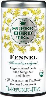 The Republic of Tea Organic Fennel Superherb, 36 Tea Bags