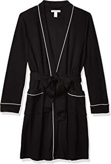 Amazon Essentials Women's Lightweight Waffle Mid-Length Robe