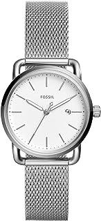 Fossil Women's Commuter Stainless Steel Mesh Casual Quartz Watch