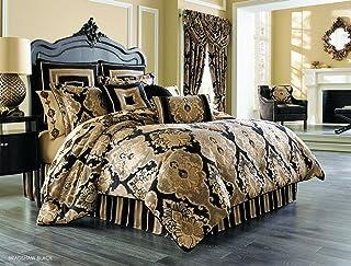 J. Queen New York Bradshaw Black Comforter Set King