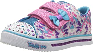 Skechers Kids' Sparkle Glitz-Lil' Dazzle Sneaker