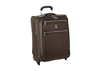 Travelpro Platinum(r) Elite International Expandable Carry-On Rollaboard (Rich Espresso) Luggage