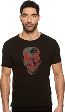 John Varvatos Star U.S.A. - Two-Tone Skull Graphic K3691U1B