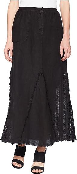 XCVI Kendall Linen Skirt