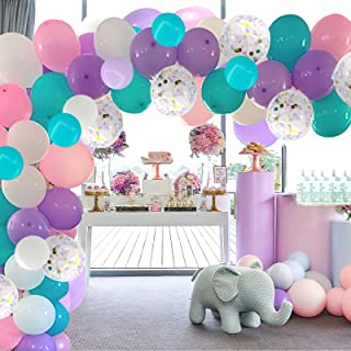 Cherry Down Purple Lilac Blue White And Silver 26pcs Party Decoration Set Toys