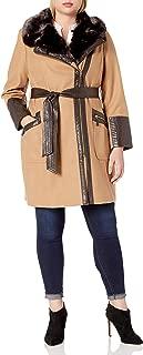 Women's Size Plus Kate Middelton Wool Coat