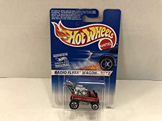 RADIO FLYER WAGON Hot Wheels 1996 Mattel diecast 1/64 scale #14914 ~ RARE FOREIGN CARDED