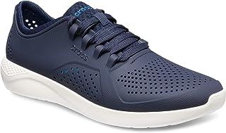 [クロックス] メンズ 男性用 シューズ 靴 スニーカー 運動靴 LiteRide Pacer - Navy/White [並行輸入品]