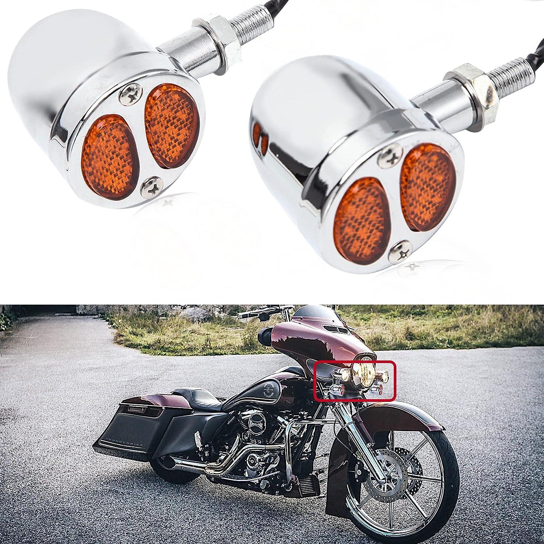 2PCS Motorcycle Turn Signal Turning Lights Motorbike Virginia Beach Mall Indicators Max 56% OFF