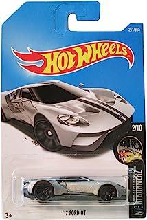 Hot Wheels 2017 Nightburnerz '17 Ford GT 211/365, Silver