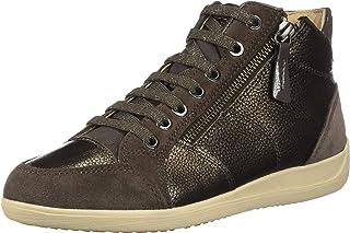 Geox D Myria C, Zapatillas Altas para Mujer