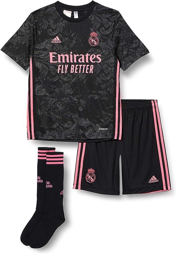 Real Madrid Saison 2020//21 /Équipement Complet /Équipement complet Mixte enfant