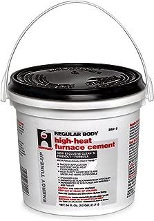 Oatey 35515 Regular Body High Heat Furnace Cement, 1/2 Gallon Bucket