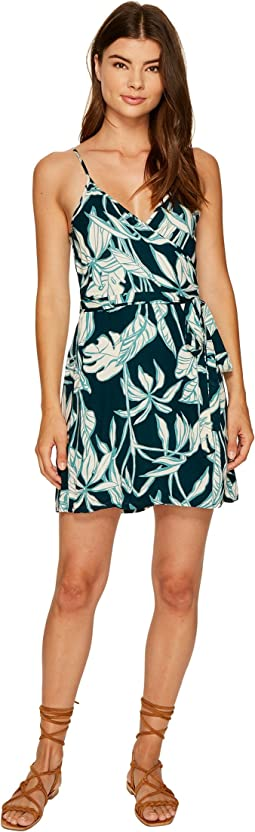 Roxy - Drifting Current Wrap Dress