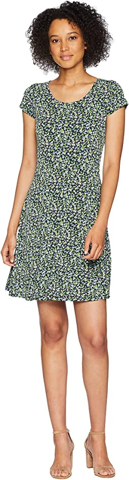 Wildflower Cap Sleeve Dress