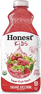 Honest Kids Super Fruit Punch Organic Fruit Juice Drink, 59 fl oz