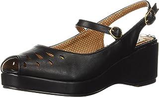 Bettie Page BP242-FAYE Women's Wedge Sandal
