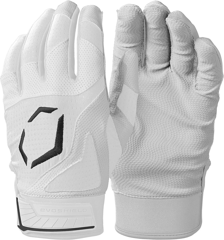 EvoShield Srz 1 Batting Glove - White, Large