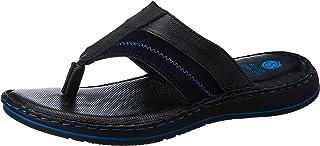 Amazon Brand - Symbol Men's Leather Slide Sandal