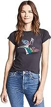 Pam & Gela Women's Crew Neck Tee-Unicorn