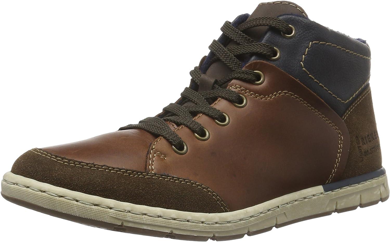 Rieker Men's 38912 Hi-Top Sneakers