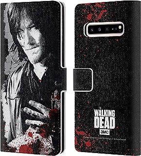 Officiel AMC The Walking Dead Main Blessée Sang Coque en Gel molle pour Samsung Galaxy S7