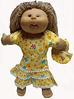 Doll Clothes Superstore Sundress Jacket and Purse Fits Cabbage Patch Kid and 18 Inch Girl Dolls
