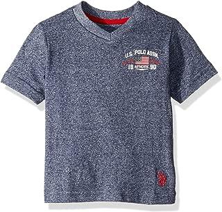U.S. Polo Assn. Boys Short Sleeve V- Neck Graphic T-Shirt Short Sleeve T-Shirt