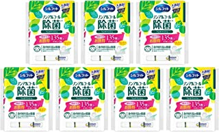 (Bulk purchase) Silcot disinfectant wet tissue Non-alcoholic type Paraben-free Refill 45 sheets x 3 packs (135 sheets) x 7