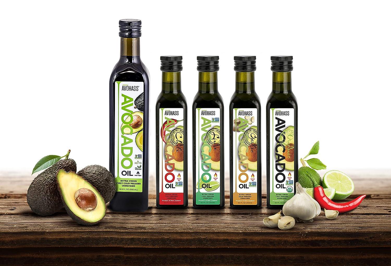 Avohass Extra Virgin Avocado Bottle Gifts Oil overseas 5 Assortment