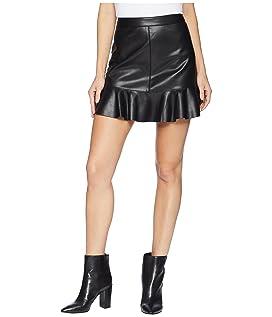 Veni Vidi Vici Vegan Leather Mini Skirt