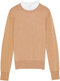 d0e3c3c7 Zara Women's Sweater with Contrast Collar 2488/115