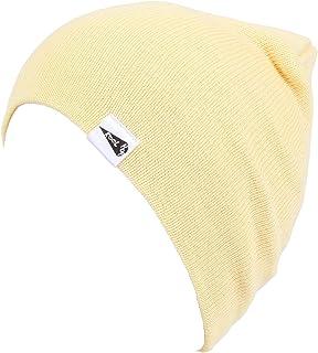 38d286084ff KooL Hop Kids Boys Girls Baby 100% Pure Cotton Knit Basic Beanie Hat Cap