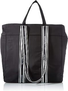 Denim TOM TAILOR bags ALEXIA Damen Shopper L, mixed black, 36x14x37