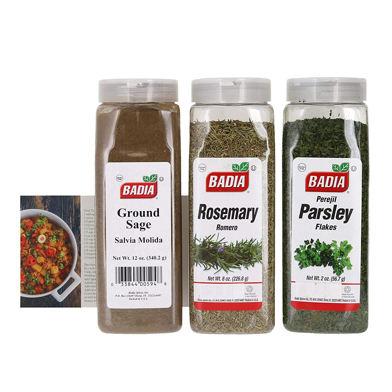 Badia Parsley Flakes Rosemary Ground store and Leaves Sa Finally popular brand