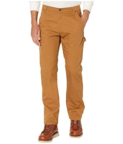Dickies Stretch Duck Carpenter Pants (Stonewashed Brown Duck) Men