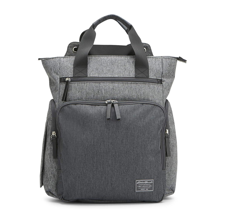 Eddie Bauer Departure Hybrid Diaper Bag, Grey