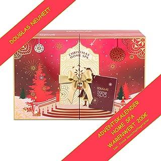 DOUGLAS Adventskalender 2021 HOME SPA Beauty, NEUHEIT, Frauen + Mädchen Kosmetik & Pflege Advent Kalender, 24 Geschenke We...