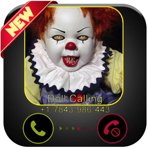 Scary Doll Killer Calling You - Free Fake Phone Call ID PRO 2020- PRANK CALL