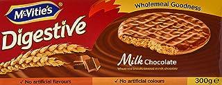 McVitie's Digestive Milk Chocolate, 300g - Pack of 1