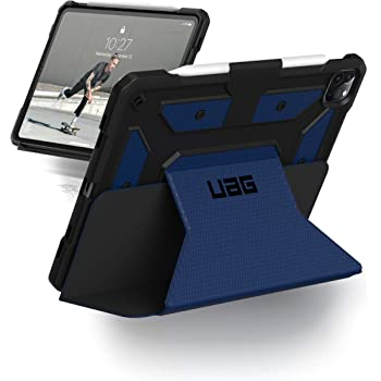 URBAN ARMOR GEAR UAG iPad Pro 12.9-inch (4th Gen, 2020) Case Metropolis [Cobalt] Folio Slim Heavy-Duty Tough Multi-Viewing Angles Stand Military Drop Tested Rugged Protective Cover